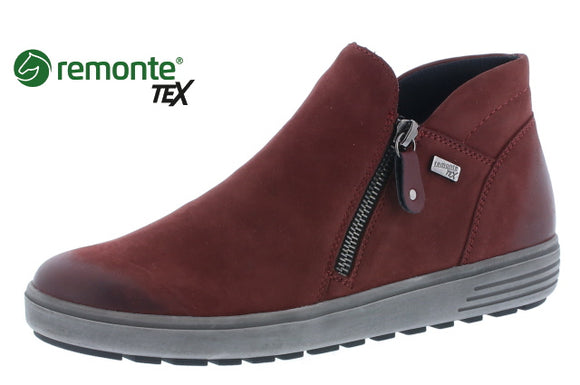 Bootie - Red (Remonte)