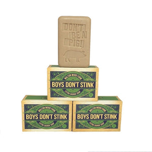 "WW Farm Soap ""Boys Don't Stink"""