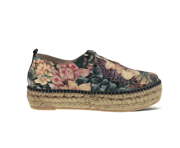 Maderia Shoe (Floral) by Atelier