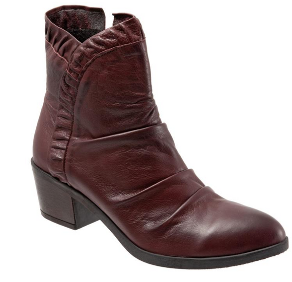 Connie Ankle Boot (Merlot) by Bueno