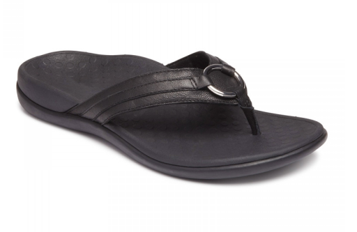 Aloe Sandal (Black) by Vionic