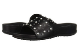 Florenz Slip-On Sandal (Black) by Romika