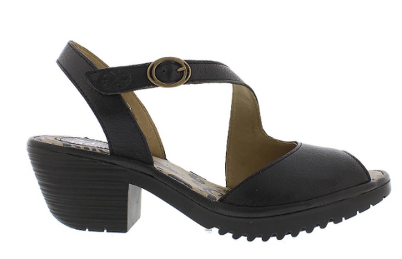 Wyno (Black) Sandal by Fly