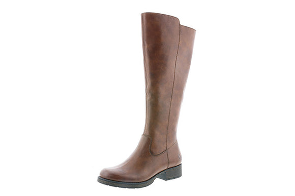 Leather Knee high boot (tan)- Rieker