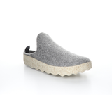 """Come Here"" slip on shoe (Grey) by Asportuguese"
