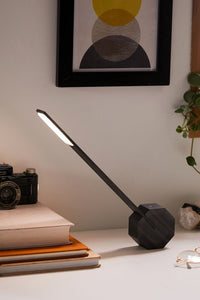 Wireless Desk Lamp - Black Stain by Ginko