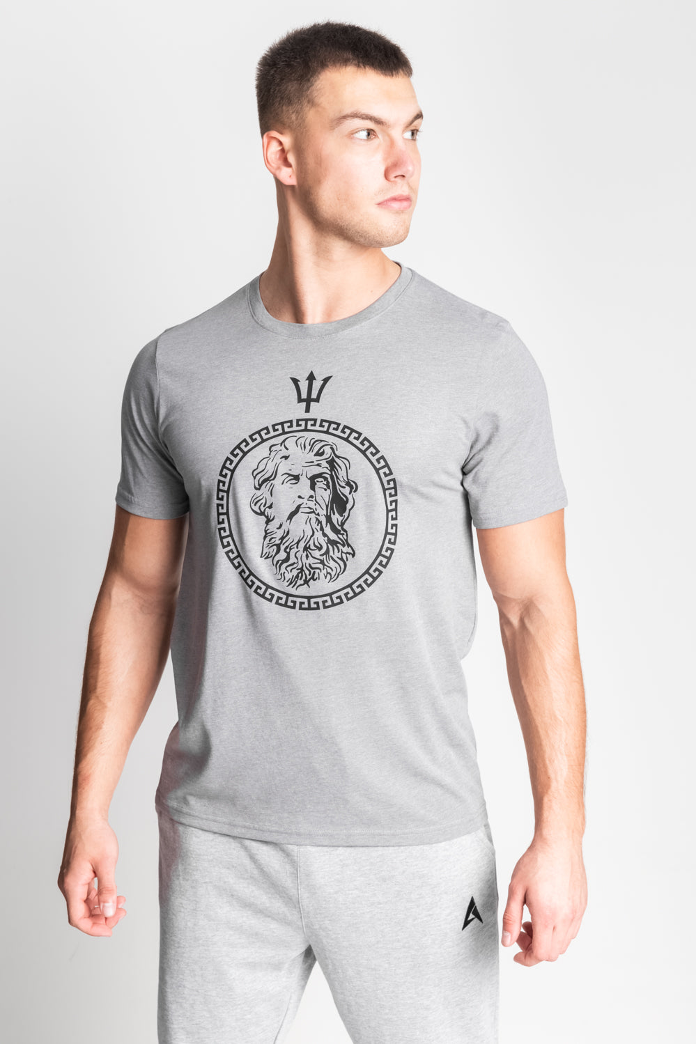 Olympus Tee - Light Grey