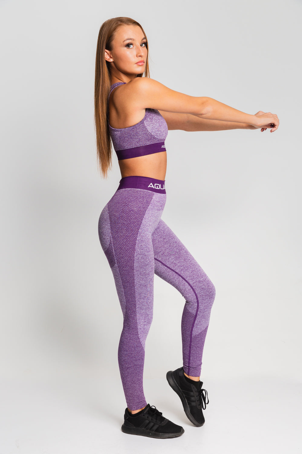 Sculpt Top - Purple