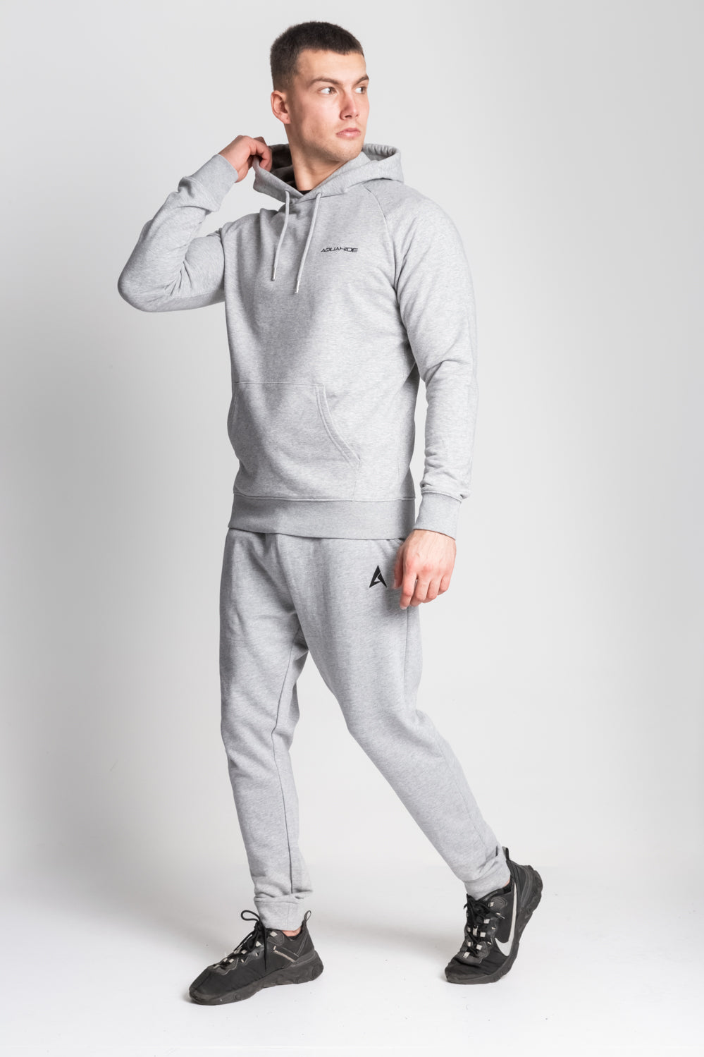 Men's Olympus Hoody - Light Grey