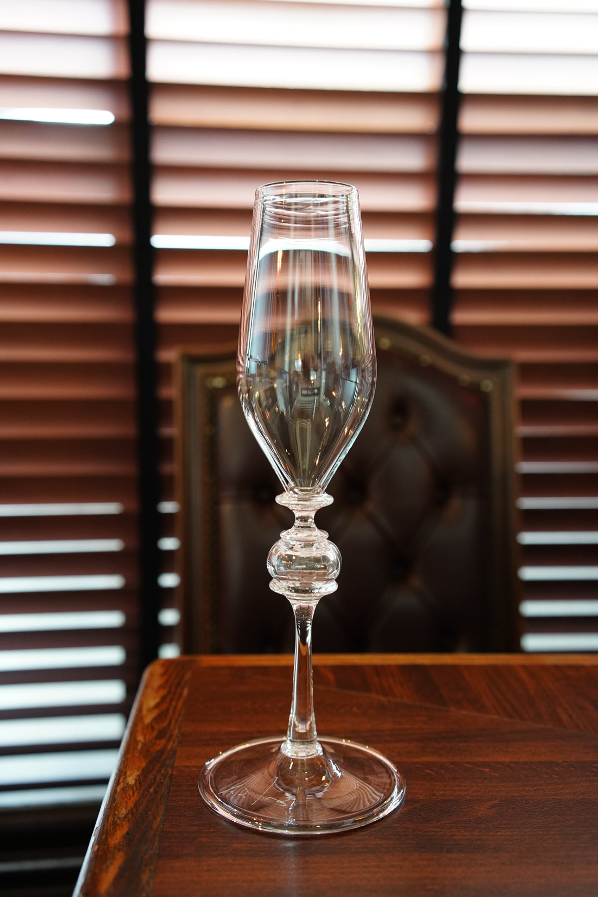 SORTE GLASS Ryo Sekino Champagne Glass goblet (Clear cup W stem)