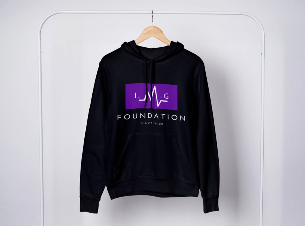 Foundation of IMG Black Hoodie