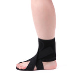 AIDER Dropfoot Braces Type 3 - Foot stabilizer Worn with Shoes, Prevent Inversion of feet, Orthopedic Medical Equipment, Lightweight Material with adhensive Velcro, Improvement in gait