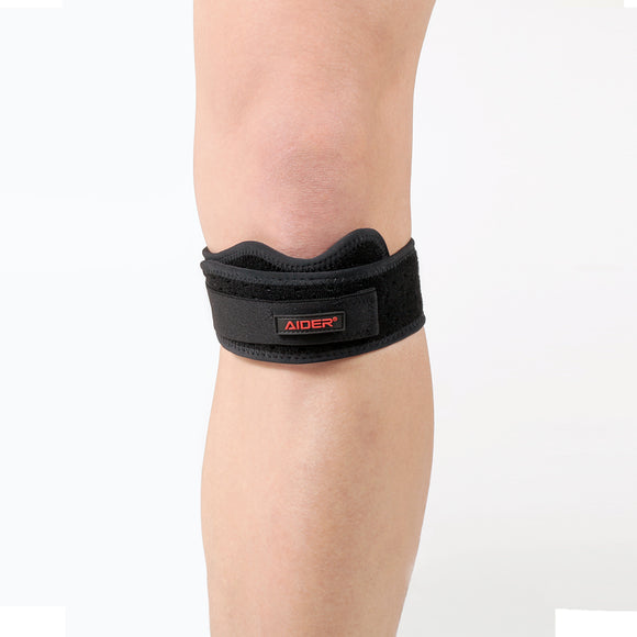 Wide & Soft Patella Strap Knee Braces - Decreased Muscle Fatigue and Rapid Recovery from The Knee Pain - Adjustable Strap is Good for Doing Any Exercise