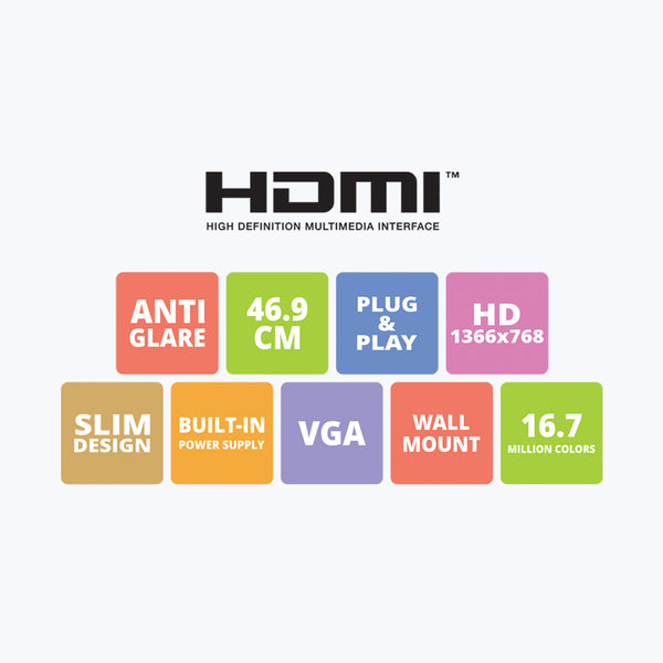 Zeb-A19HD LED (With HDMI)