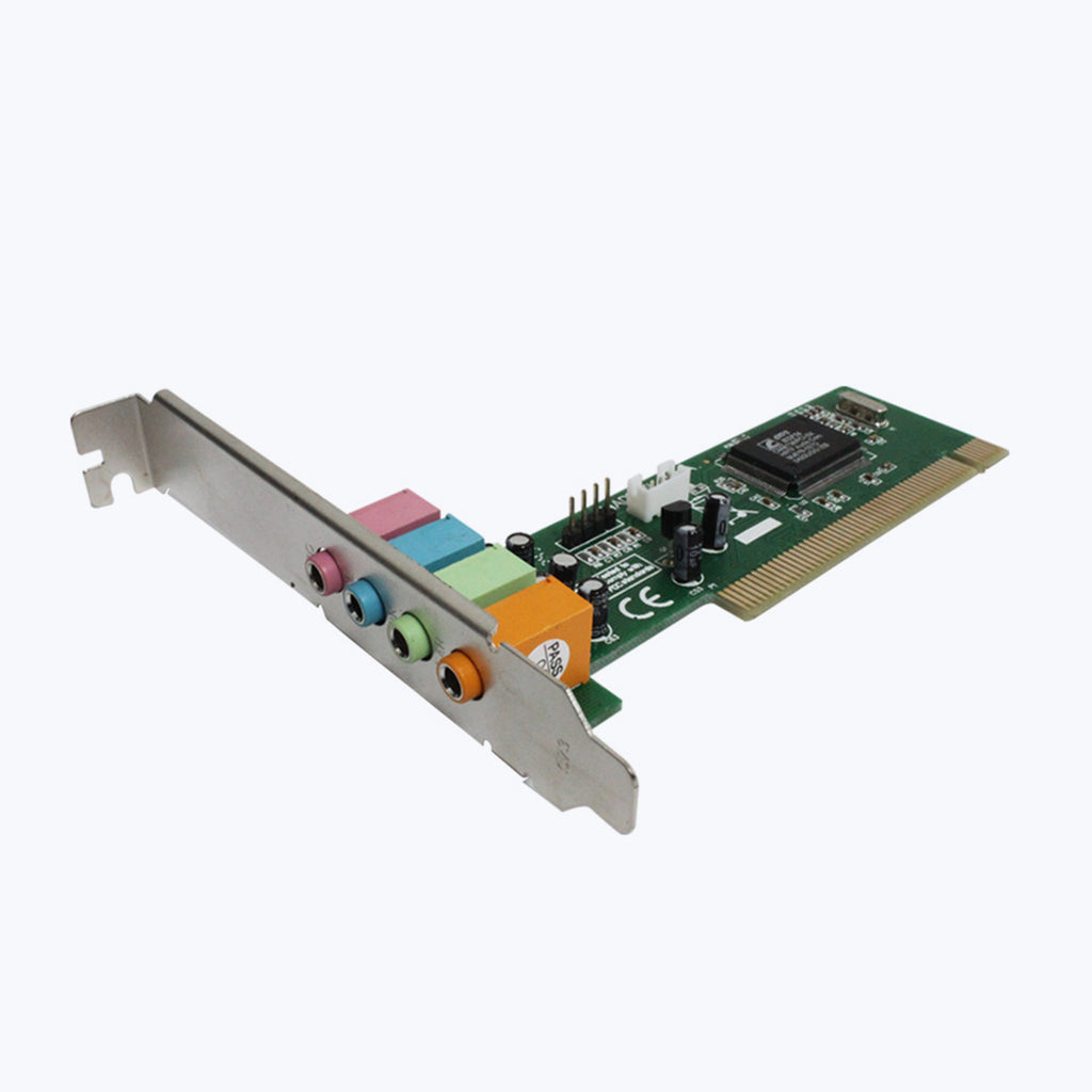 Zeb-PSC4, PCI sound card 4 channel - Zebronics
