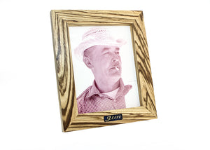 "8"" x 10"" Zebra Wood Picture Frame"