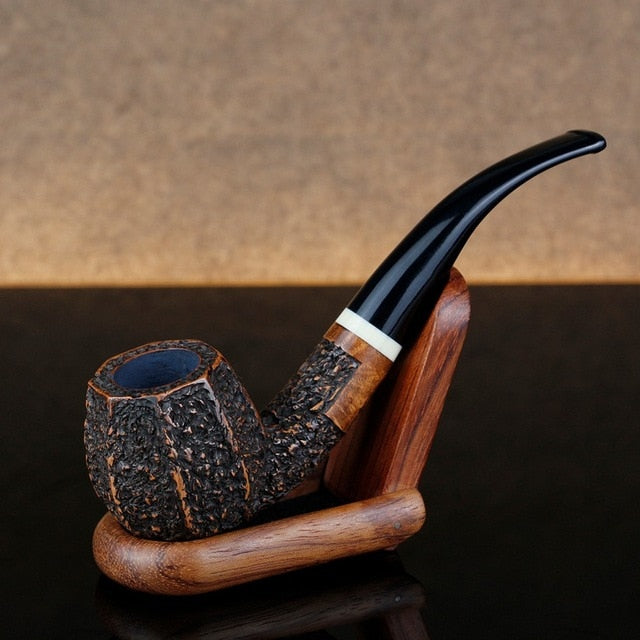 Classic Bent Briar Smoking Pipe