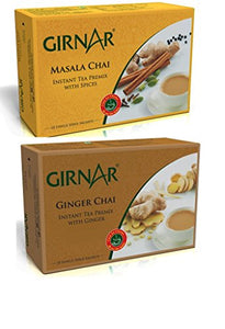 Girnar Instant Tea Combo of Masala and Ginger Premix (140g)
