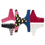 12 PCS LADIES UNDERWEAR THONG