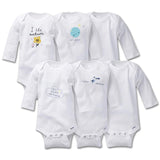 6 Pcs Pack Baby Romper Unisex Pure Cotton High Quality (24 Months & 36 Months)