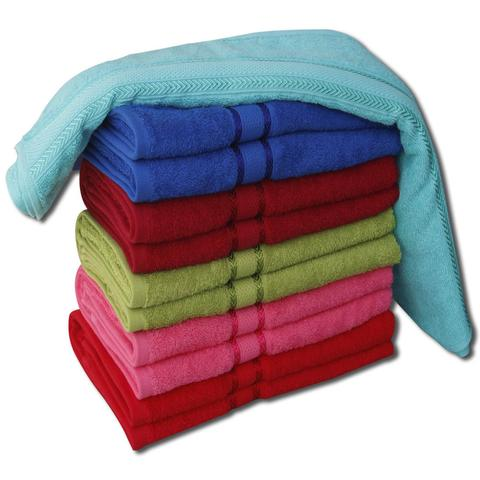 6 Pcs Bath Towel