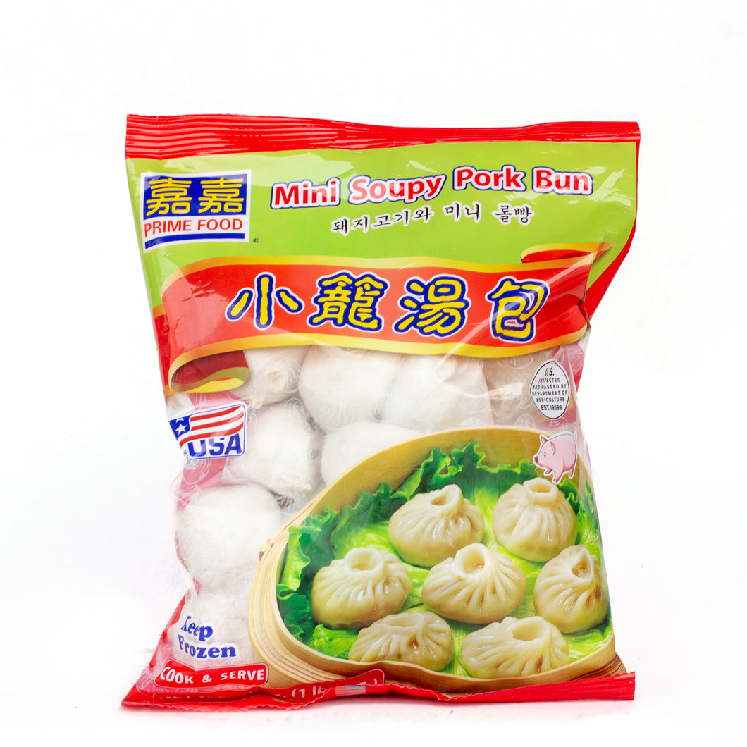 Prime Food Frozen Mini Soup Pork Dumpling 䕒䕒小笼包 (20 OZ)