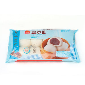 Frozen Red Bean Paste Bun 豆沙包 (8 PC 8.4 OZ)