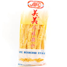 Load image into Gallery viewer, AFC Beancurd Sticks 美美元枝腐竹 (6 OZ)