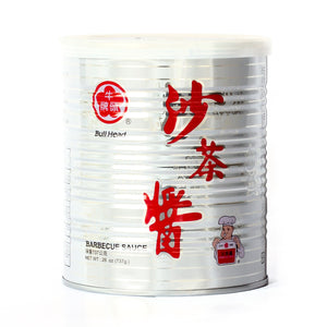 Bull Head Barbecue Sauce 沙茶酱 (26 OZ)