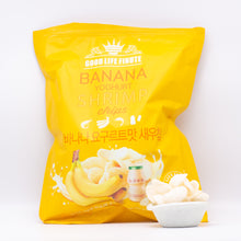 Load image into Gallery viewer, Banana Yoghurt Shrimp Chips (香蕉酸奶味虾片240 g)