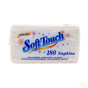 SOFT TOUCH 180 Napkins 纸巾