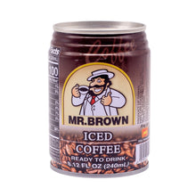 Load image into Gallery viewer, Mr. Brown Iced Coffee 伯朗咖啡原味 (1 CASE, 24x8.12oz)
