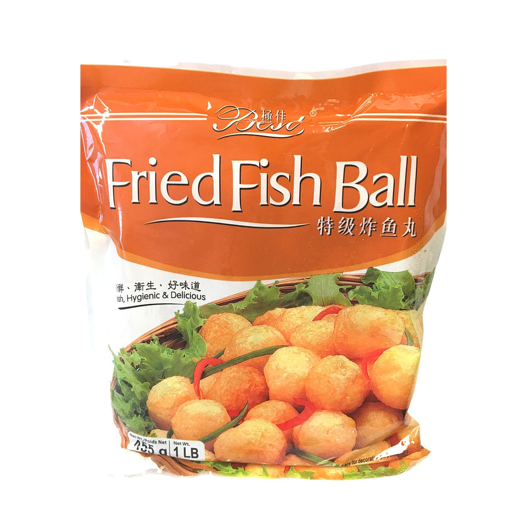 Fried Fish Balls 特极炸鱼蛋丸 (16 OZ)
