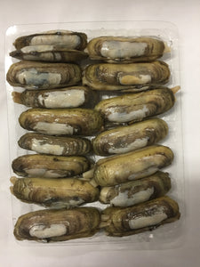 Frozen Cooked Razor Clams 熟蛏子 (240g, 15-20 PCS)