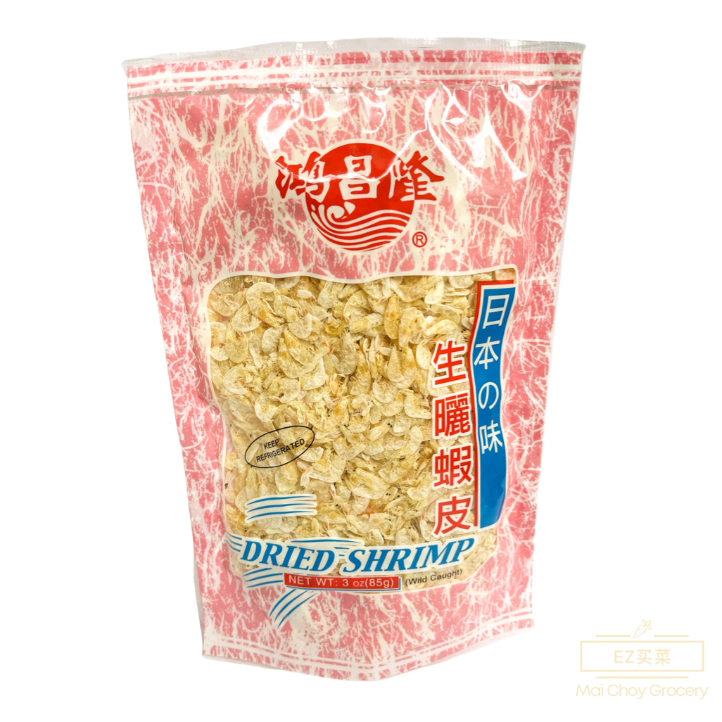 Wild Caught Dried Shrimp 生晒虾皮 (超干85g)