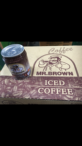 Mr. Brown Iced Coffee 伯朗咖啡原味 (1 CASE, 24x8.12oz)