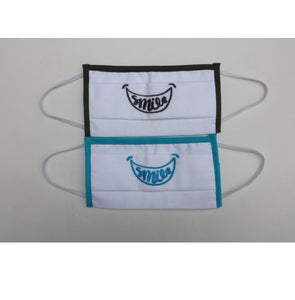 Pack 2 Mascarillas SMILE (Azul/ Negro) IIR