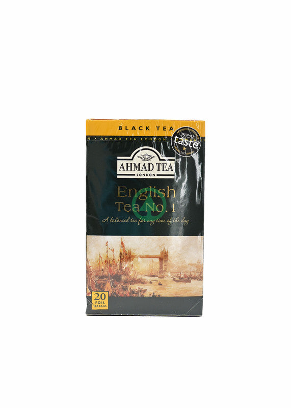 Ahmad English Tea No1 20X2g