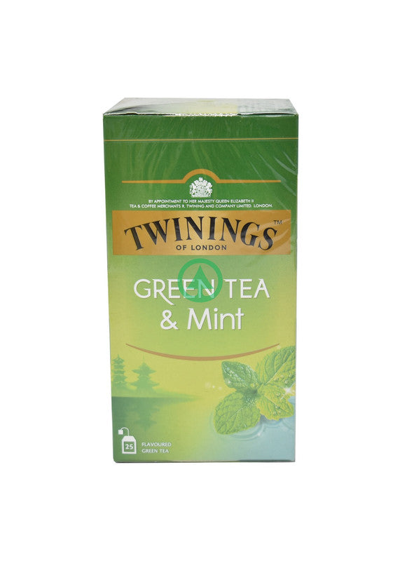 Twinings Green Tea Mint Tea Bags 25X 1.5G