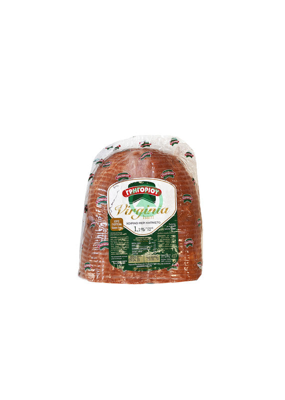 Gregoriou Virginia Ham ~250g -10 Slices   (€12.89/Kg)