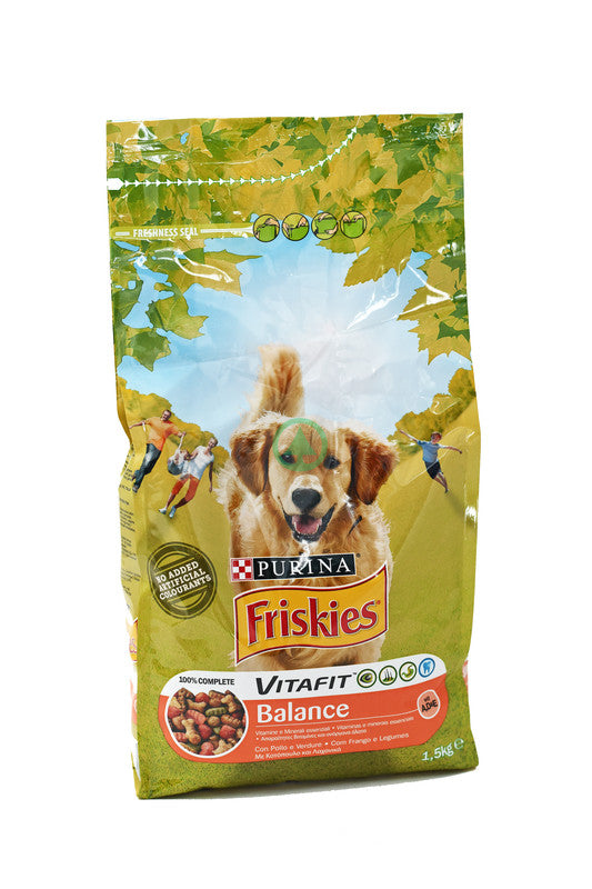 Friskies  Dry Dog Chicken&Vegetables 1.5Kg