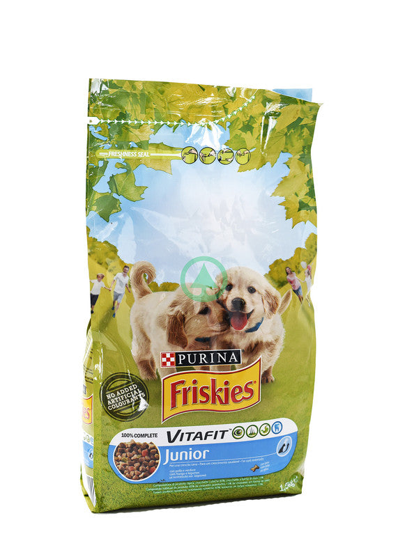 Friskies Dry Dog Junior Chicken&Vegetables 1.5Kg