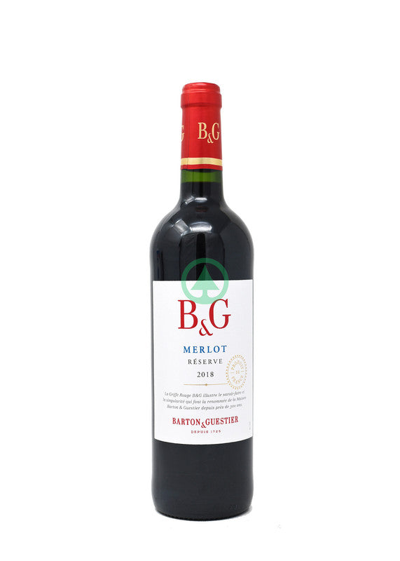 B&G Merlot Wine 75cl
