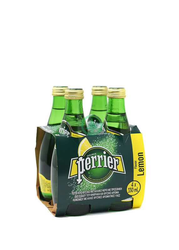 Perrier Lemon Sp.Water 4X33cl
