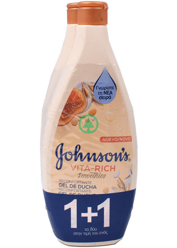 Johnsons Bath Vita Rich Yogurt&Honey 400ml