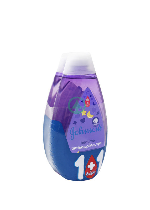 Johnson Baby Bedtime Bath 500ml 1+1 Free