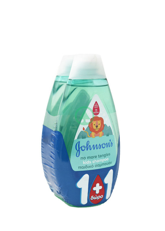 Johnson Kids Shampoo No More Tangles 500ml 1+1 Free