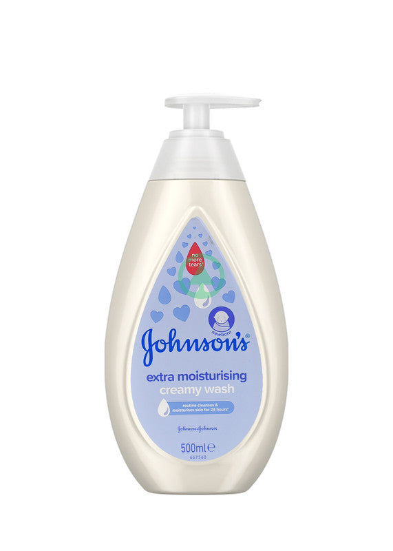 Johnson's Baby Ttt Extra Moist Wash 500ml