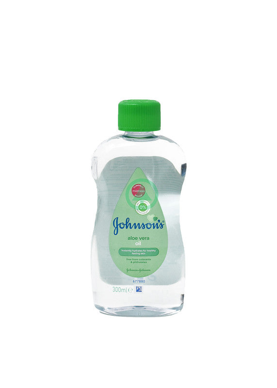 Johnson'S Baby Oil With Aloe 300ml