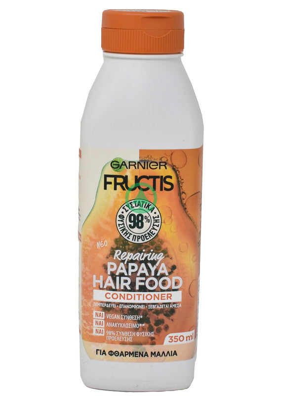 Fructis Conditioner Hair Food Papaya 350ml
